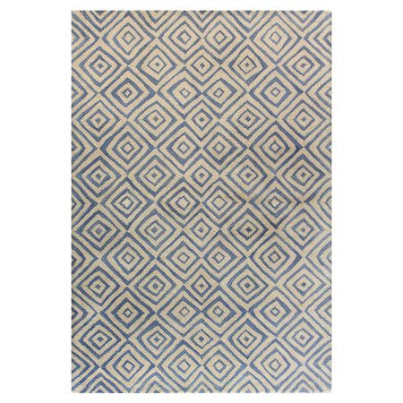 Rugs – Home Decor Maricopa Rug in Ivory and Blue at Joss