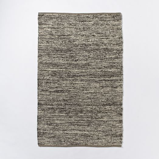 Rugs Home Decor Sweater Wool Rug Charcoal West Elm