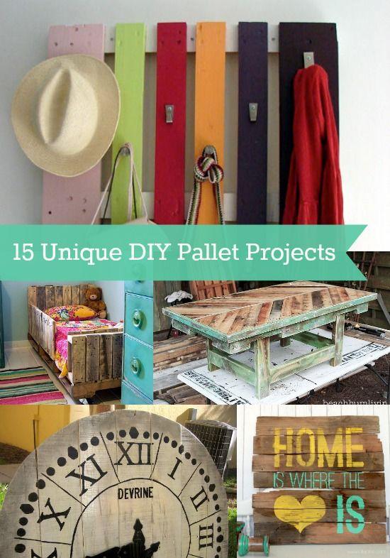 15 Unique DIY Pallet Projects - diycandy.com