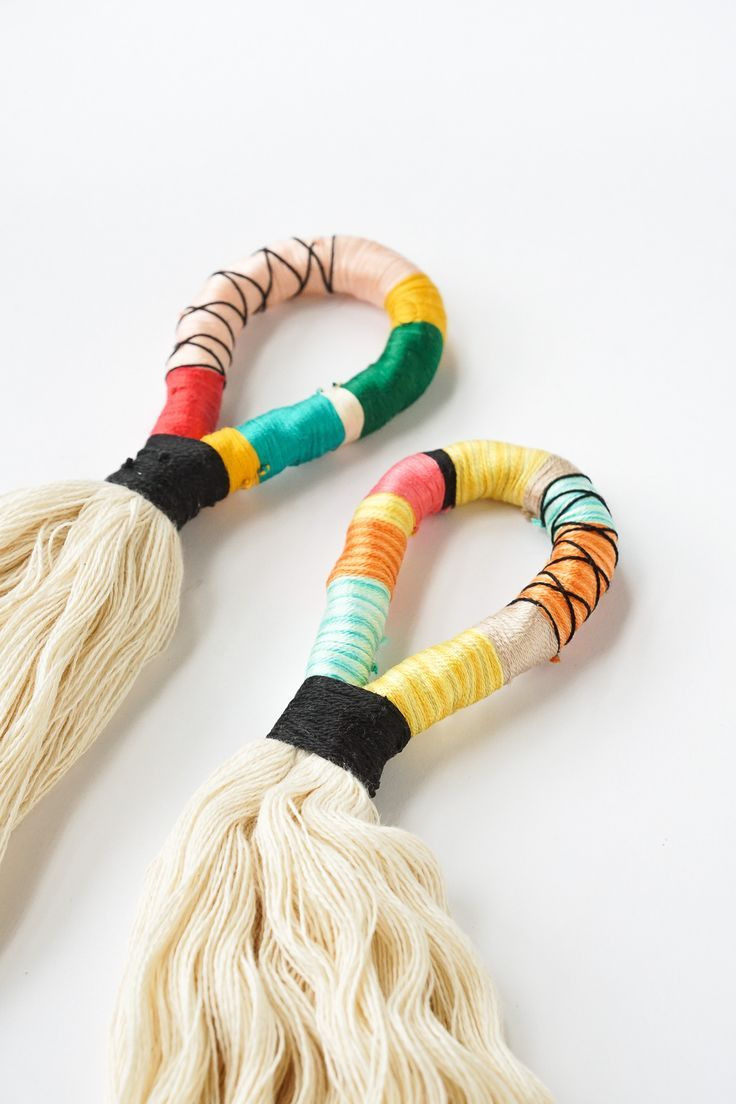 Home decor diy 39 s diy door handle tassels by ashley rose for Top diy home decor blogs