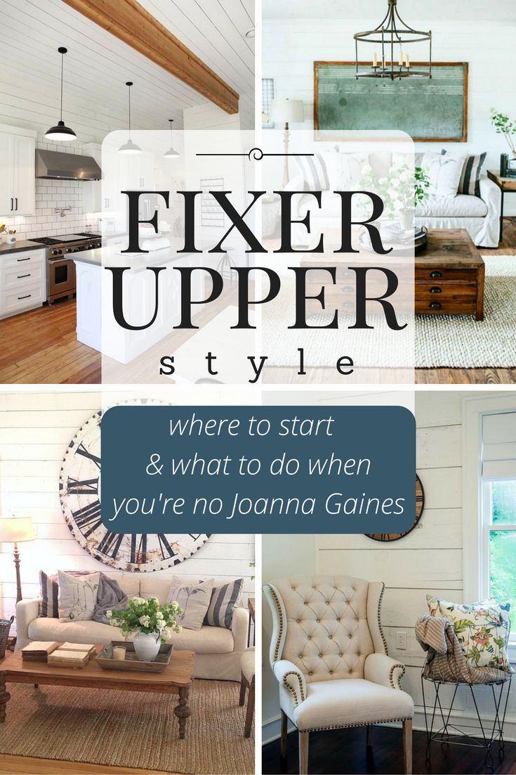 Home Decorating DIY Projects: Do you want to add Fixer Upper style ...