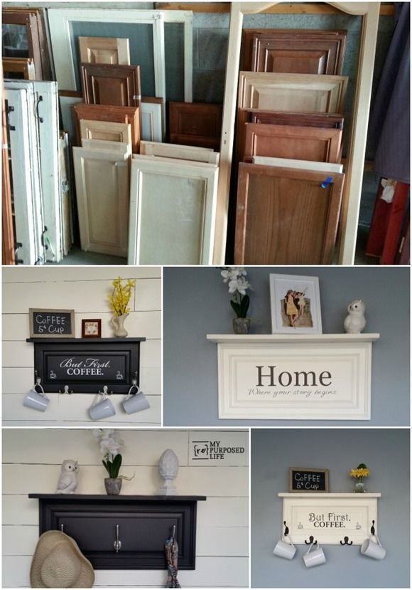 Attrayant Home Decorating DIY Projects: Four Easy Cabinet Door Projects Will Inspire  You To Think Outside The Box And Cru2026