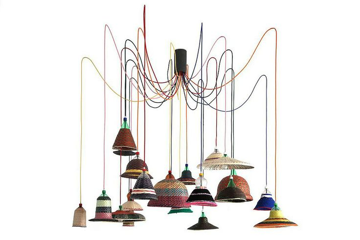 Interior Design Magazine: Alvaro Catalán de Ocón's  PET Lamp project, 2013. Re...