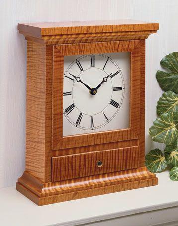 Clocks Decor Mantel Clock Woodsmith Plans Decor Object