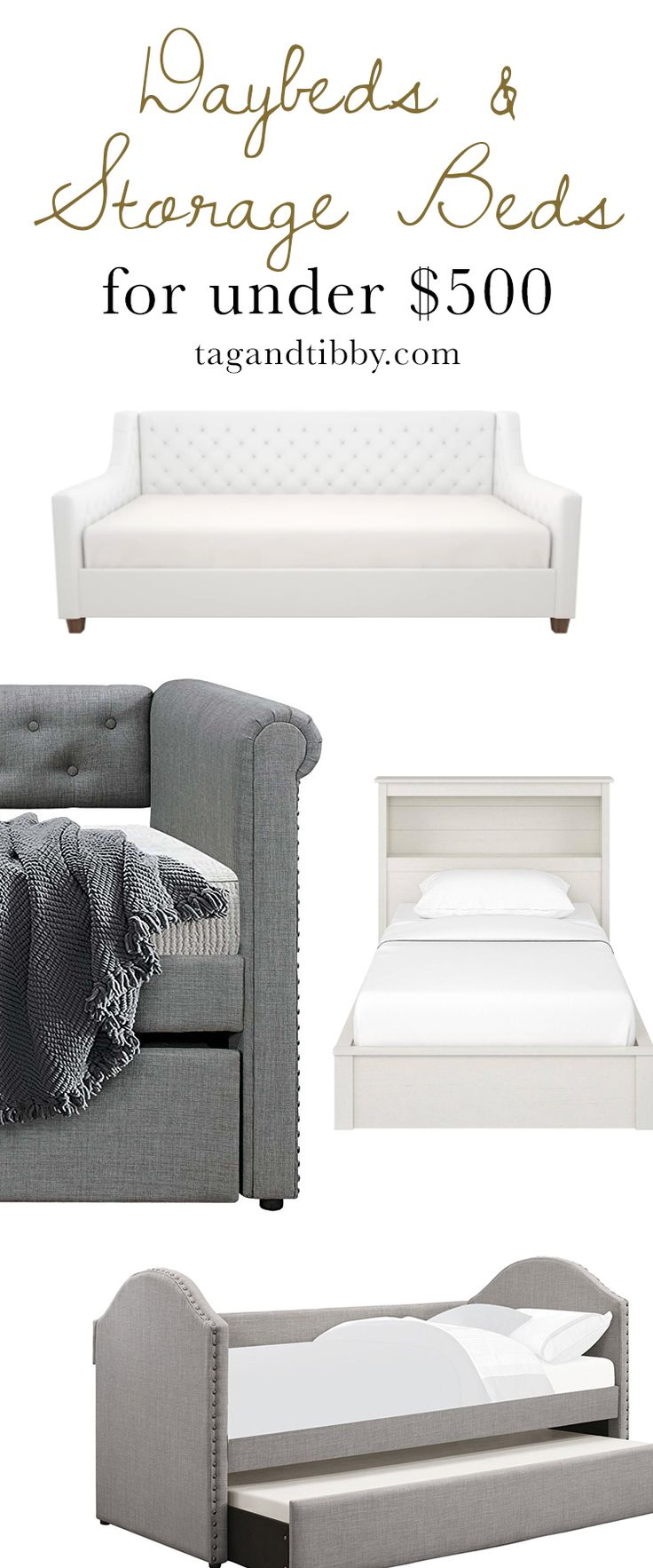 Diy Inspiration Daybeds: Home Decorating DIY Projects: Daybeds & Storage Beds For