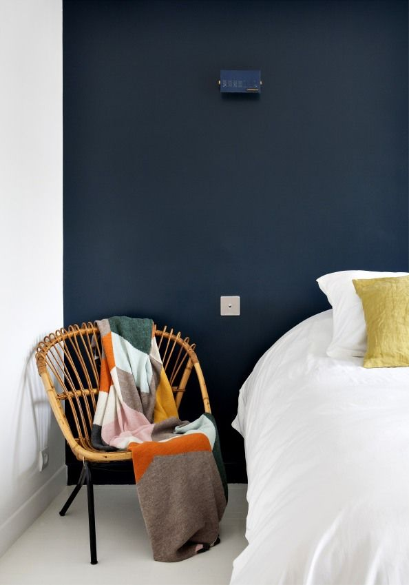 Een mooi en fris contrast met Climax voor de slaapkamer.