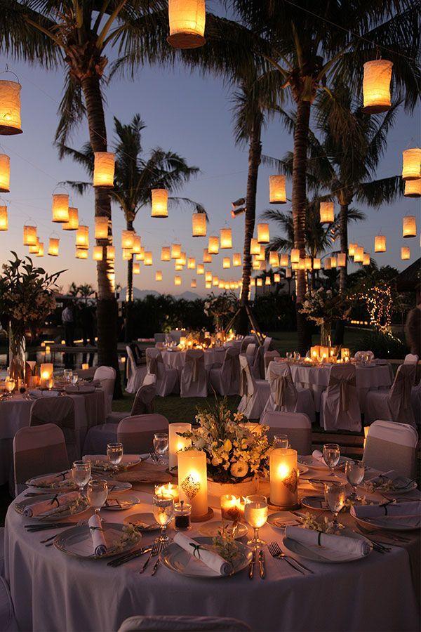 Wedding Lighting - Wedding Lanterns | Wedding Planning, Ideas & Etiquette | Brid...