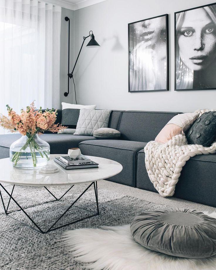 Home Interior Design Christmas Living Room Decorating Ideas: Living Room : Scandinavian Interior Modern