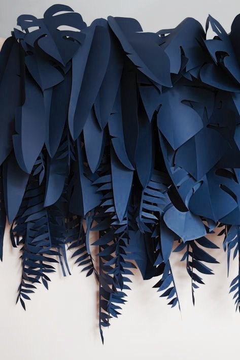 Paper Leaves (Diy Paper Backdrop)