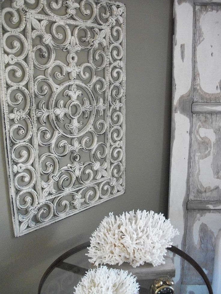 Decor Hacks Turn A Dollar Store Floor Mat Into Faux Wrought Iron