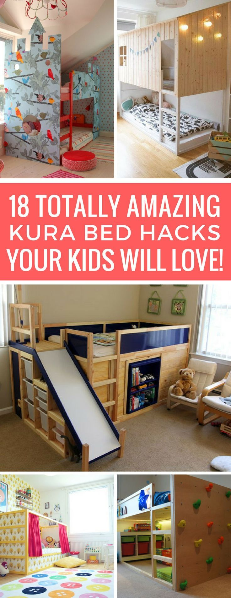 18 Amazing KURA Bed Hacks to Turn a Boring Bed into Something Special!