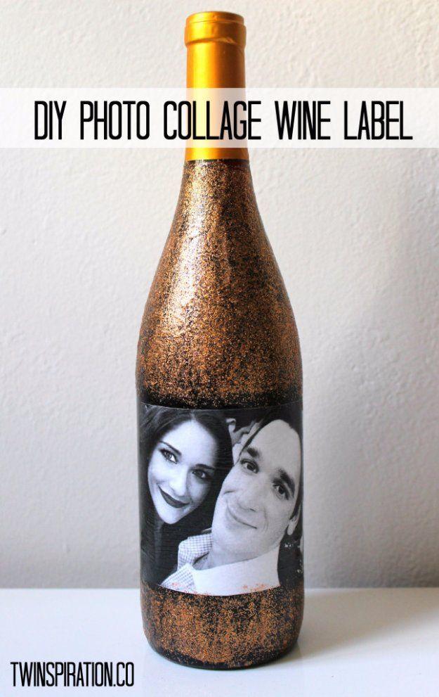 Decorative Bottles Wine Bottle Diy Crafts Diy Photo