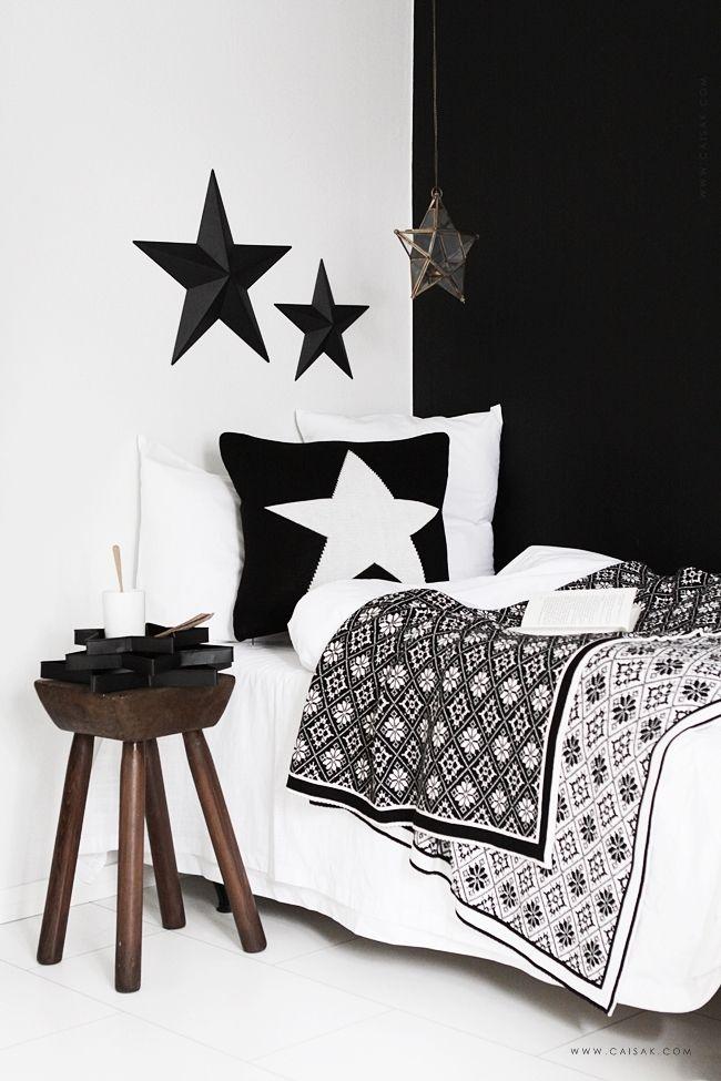 Furniture - Bedrooms : #Inspiratie: stoere slaapkamer in zwart & wit ...
