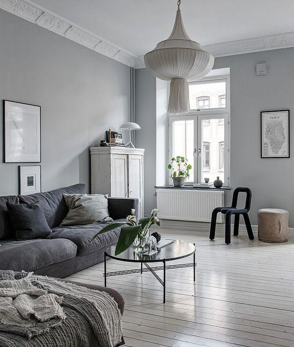 Furniture - Living Room : Beautiful grey living space - via ...