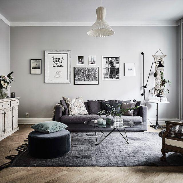 Wonderful living room in the home of Johanna Bradford for sale via Entrance Mäk...
