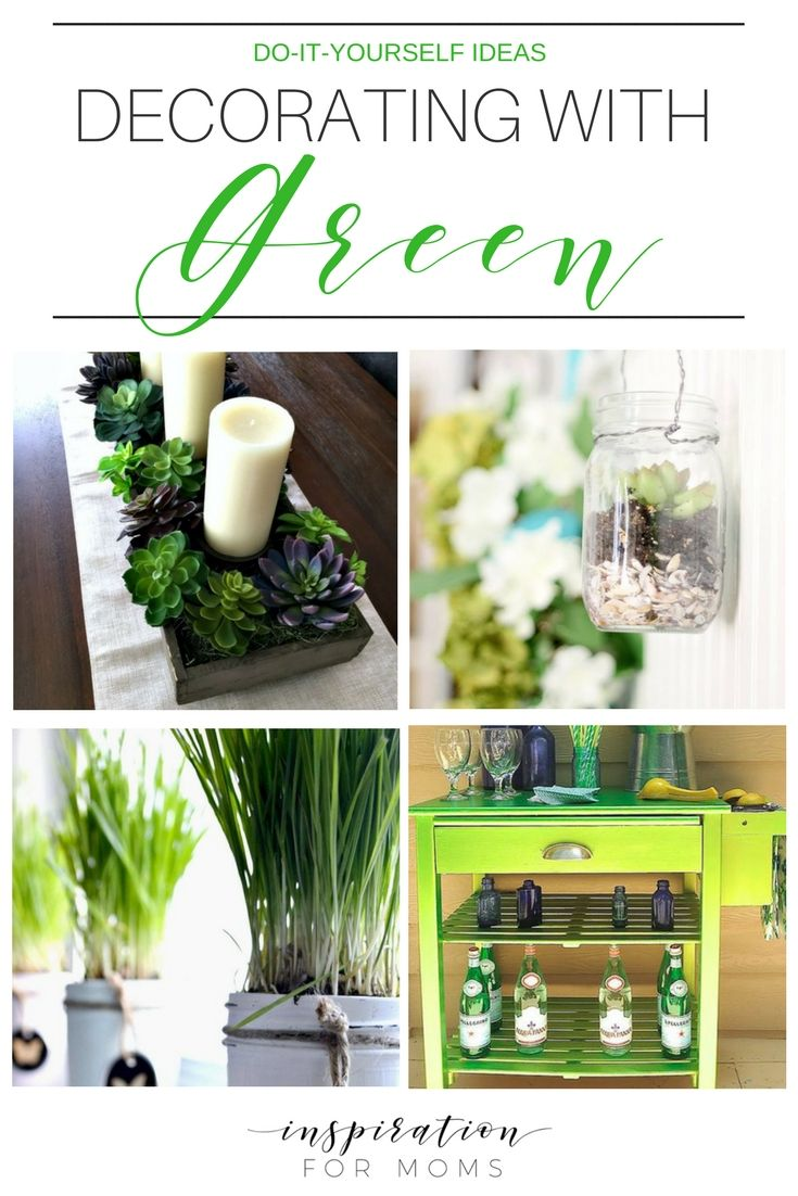 home decorating diy projects spring is all about the green