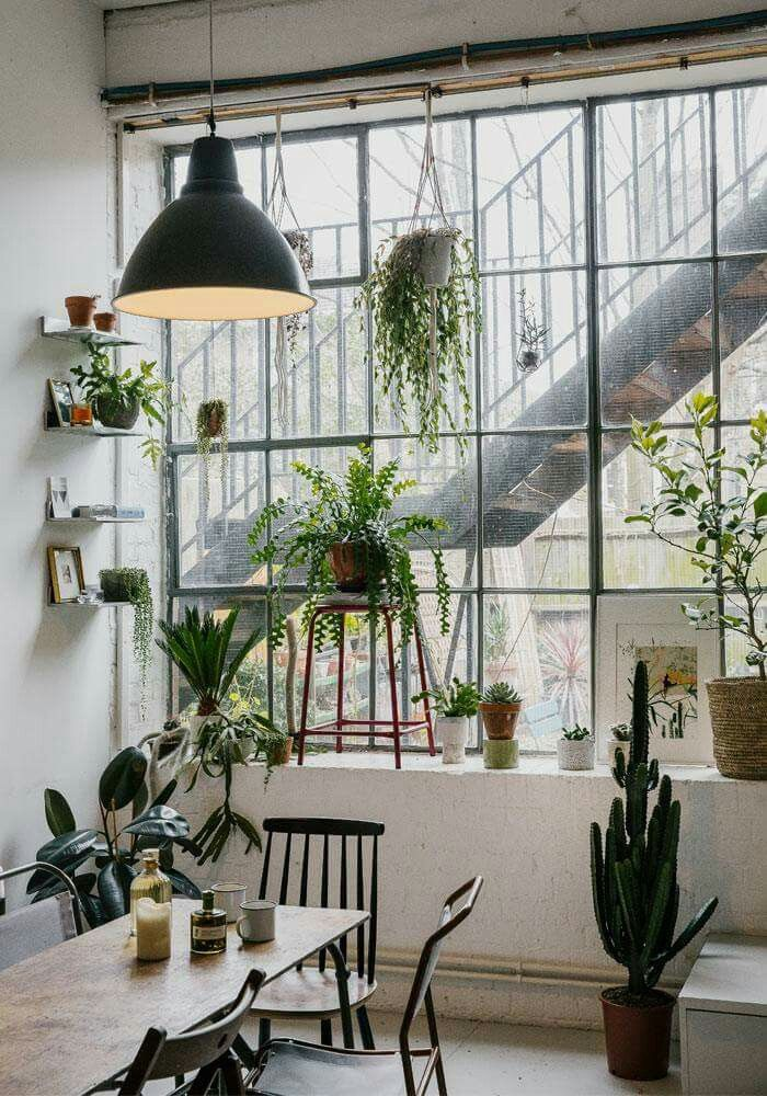 Home Decorating DIY Projects: Urban Jungle Eetkamer In