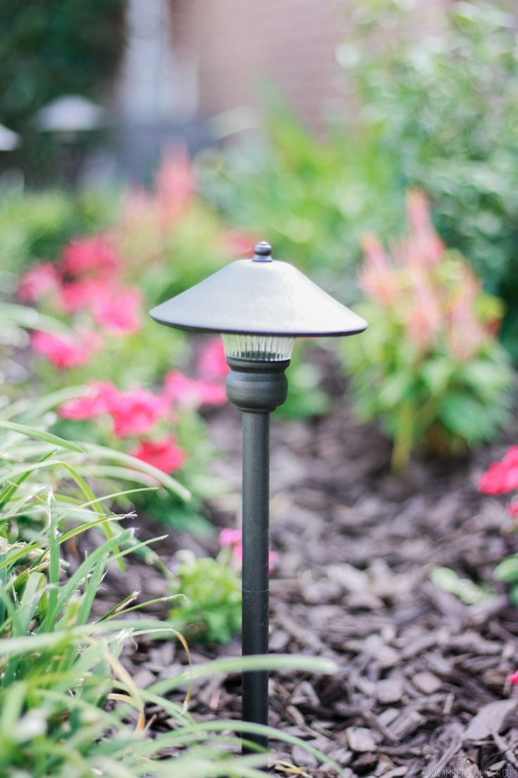 Curb appeal project: DIY low voltage lighting! #curbappeal #outdoor #diy