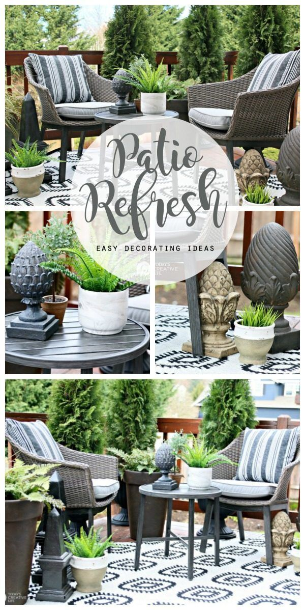 Easy Patio Decorating Ideas