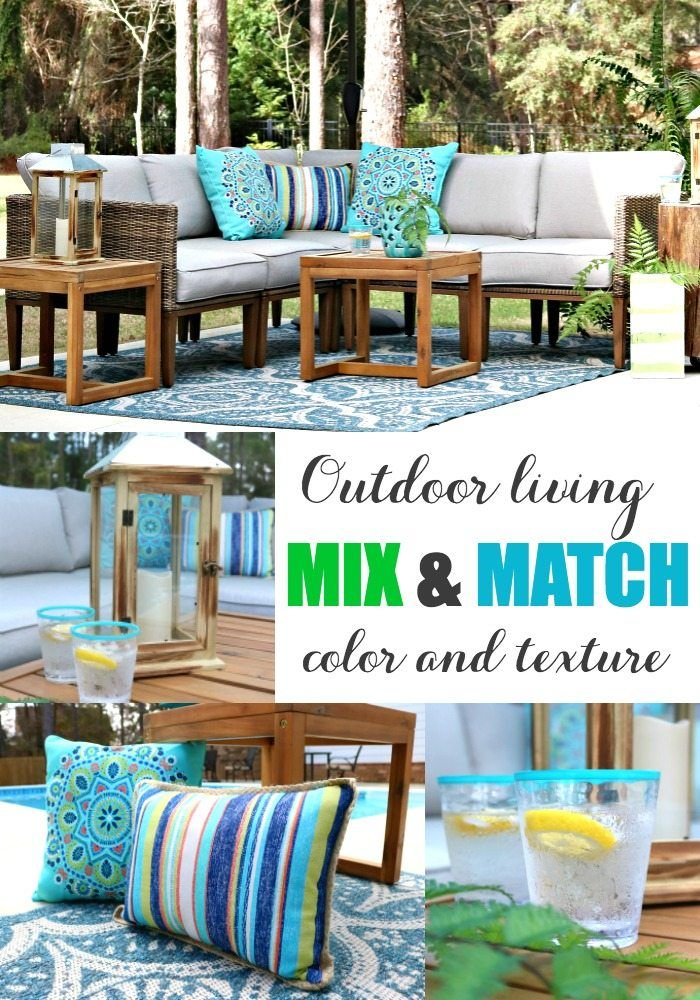 Mix & Match Patio Decorating Ideas