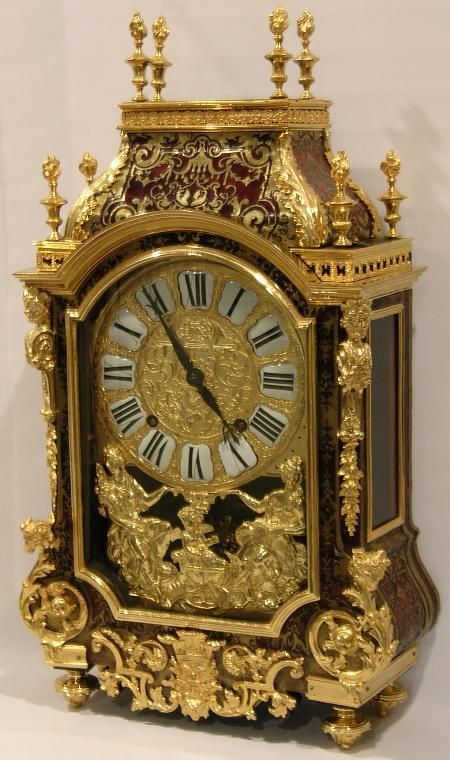 Clocks Decor 1695 Louis Xiv Style Boulle Marquetry