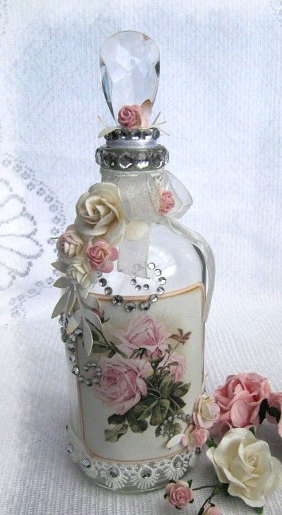 Decorated bottle  ♥  —   (410x750)