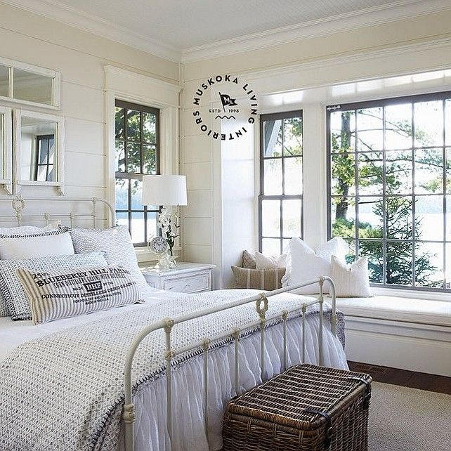 The Most Popular Dining Room Design Ideas On Pinterest: Bedrooms : Cottage Bedroom. Coastal Muskoka