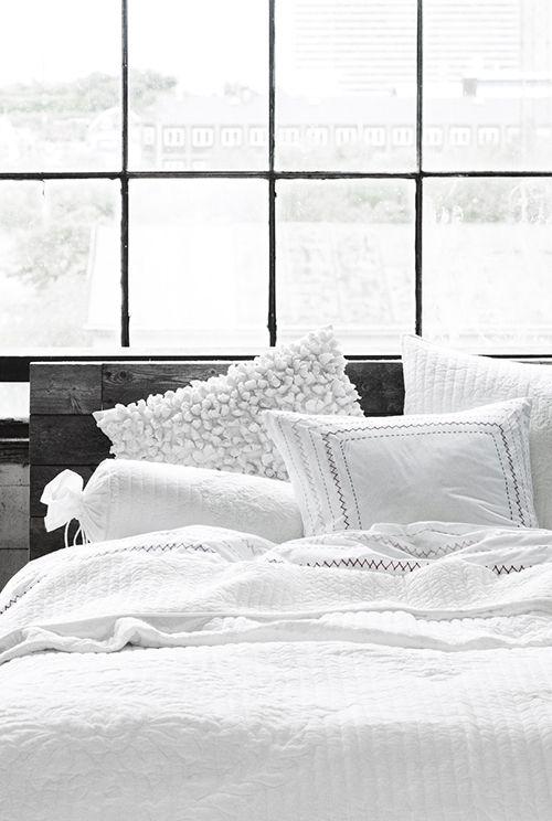 textured white linens