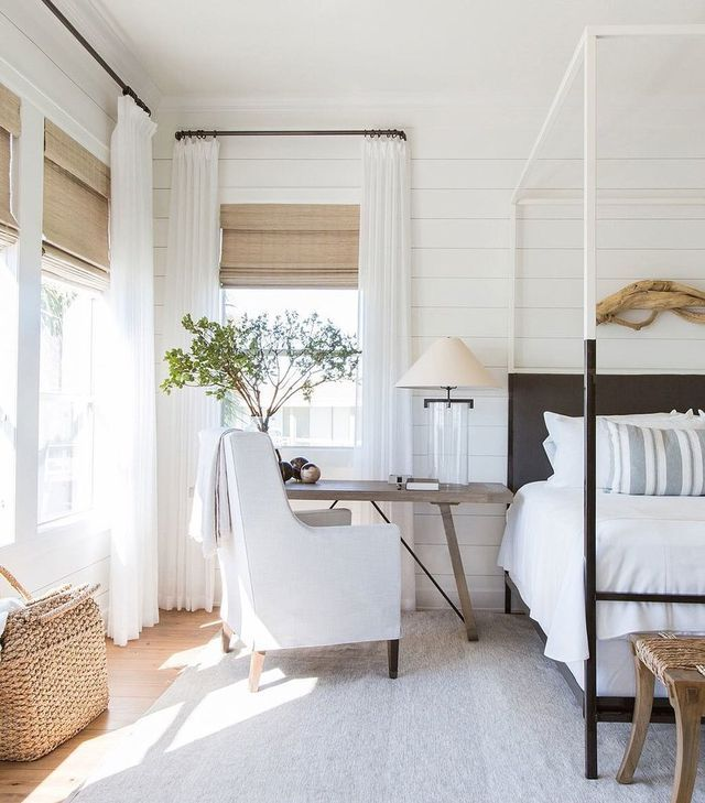 Bedrooms : Window Treatments Are A Big Thing