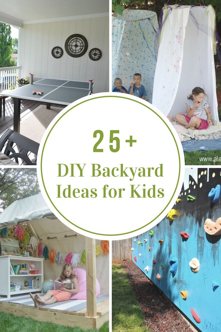 Outdoor Ideas | Backyard Decor | Kids | Look how fun these DIY ...