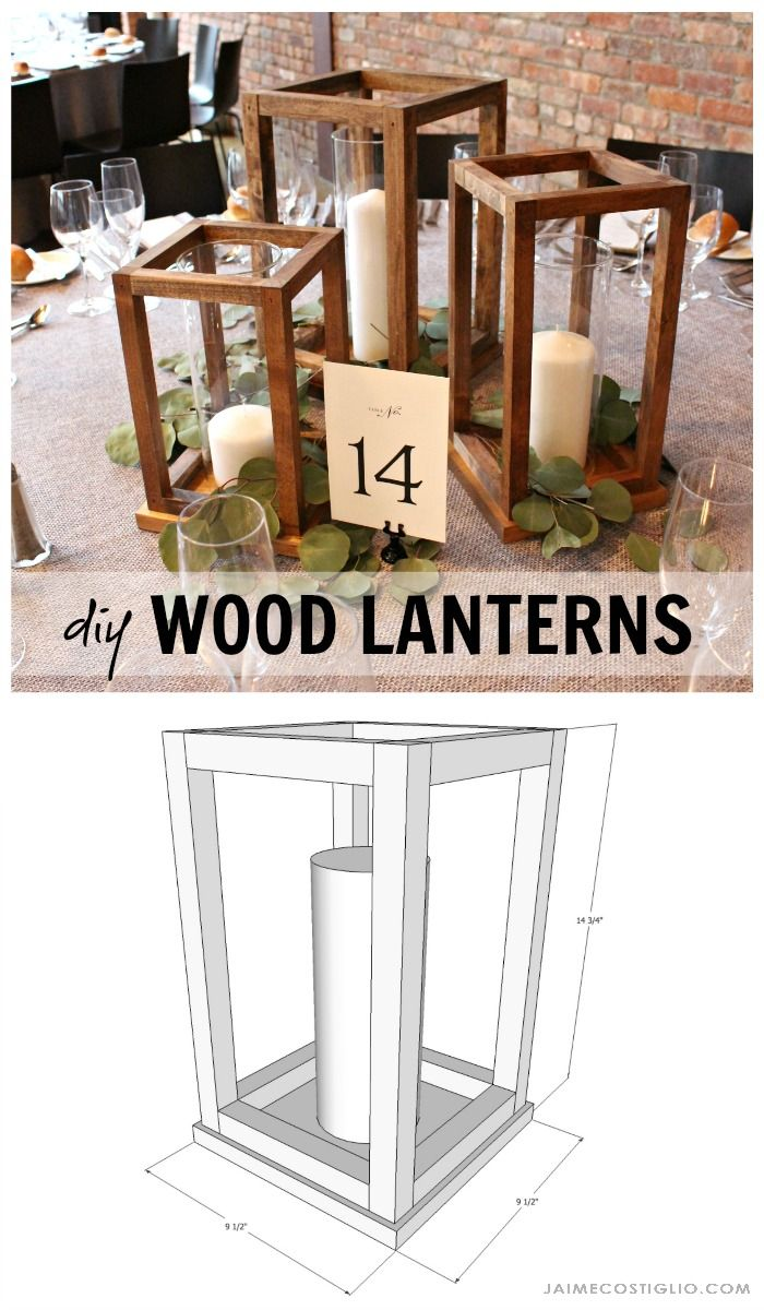 Home Decorating DIY Projects: diy wood lanterns free plans - Decor ...