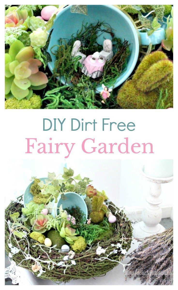 Outdoor Decorating/Gardening : Make a Fairy Garden without using ...