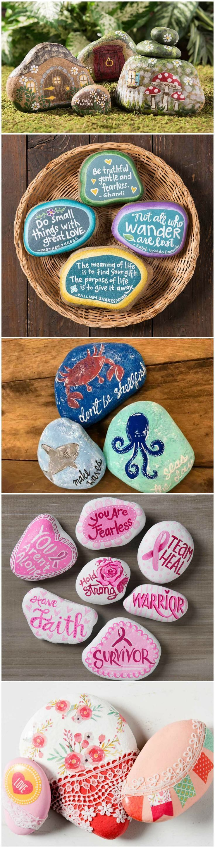 10 Easy Painted Rocks That Are Fun to Make & Tips