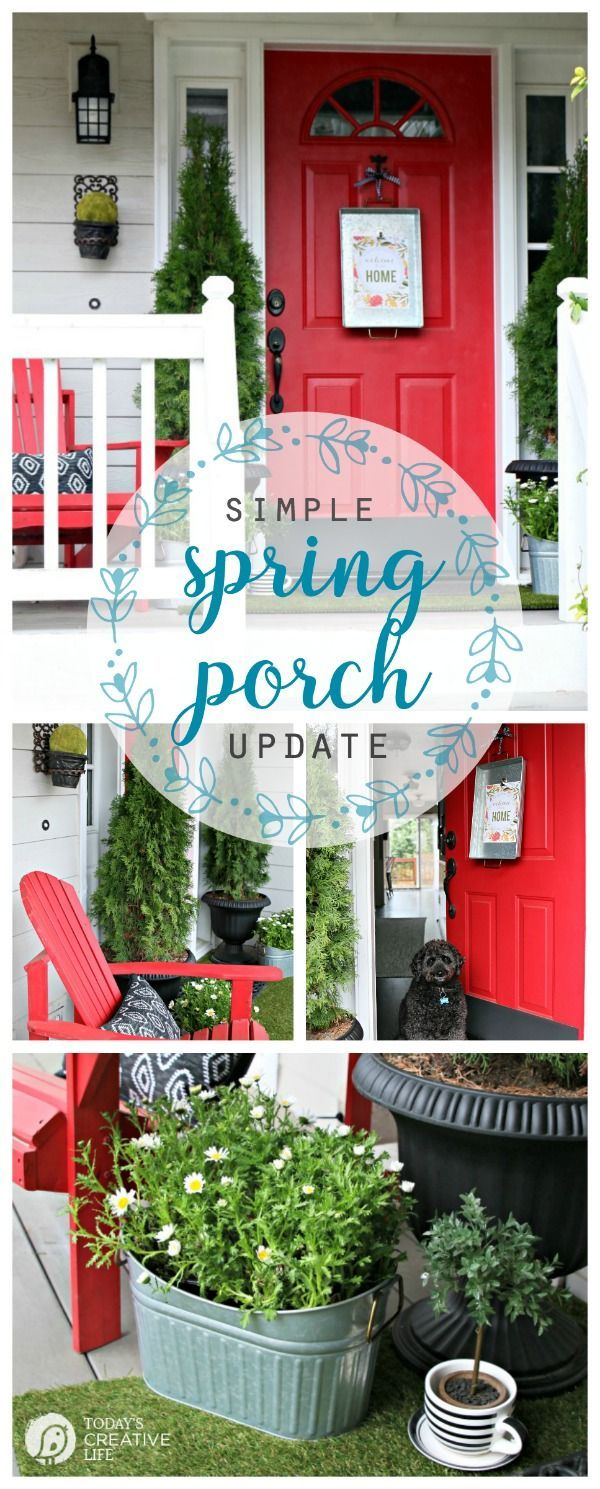Outdoor Decorating Gardening Simple Porch Decorating For Spring Decor Object Your Daily Dose Of Best Home Decorating Ideas Interior Design Inspiration