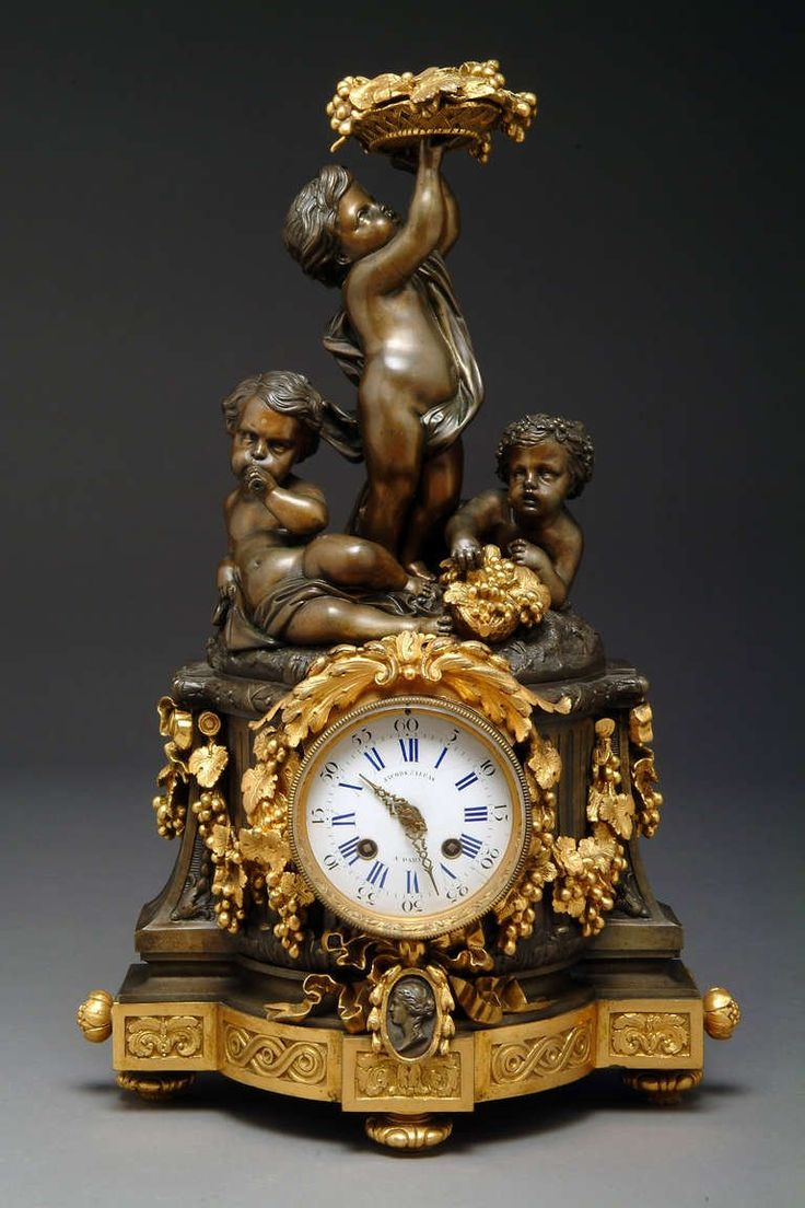 Clocks Decor Date Unspecified Antique French Figural