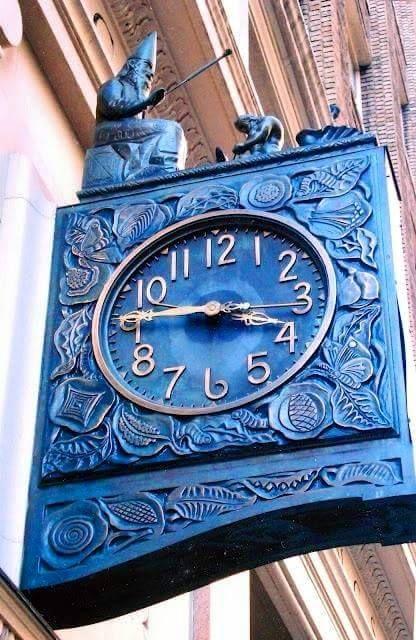 Horloge de rue - Manhattan (1926)