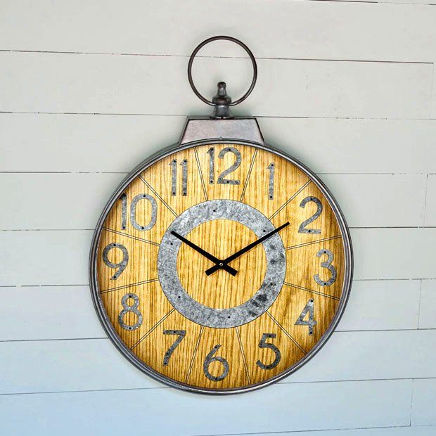 Whimsical Round Wall Clock