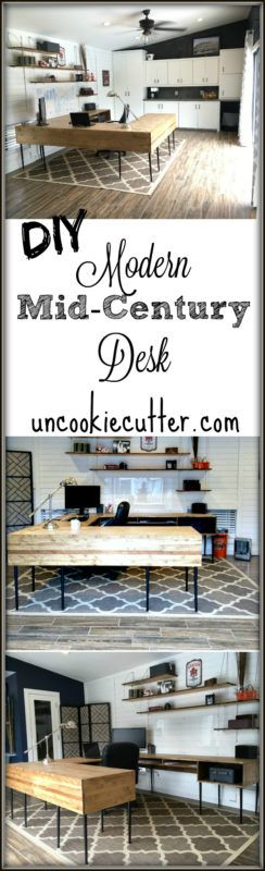 Modern desk diy uncookie cutter decor object your for Modern home decor articles