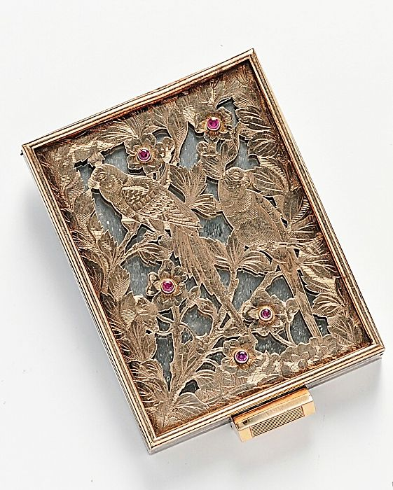Gem-set Compact and Lipstick Case, Boucheron, jm