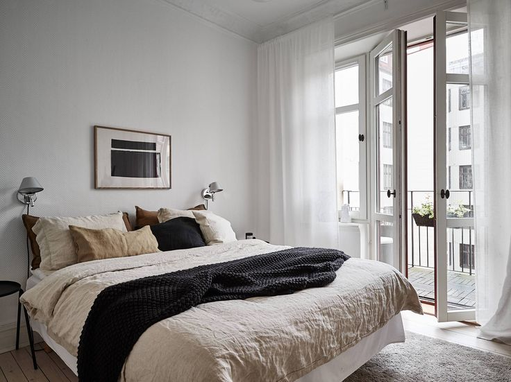 Furniture - Bedrooms : Grey home with a natural touch - via Coco ...