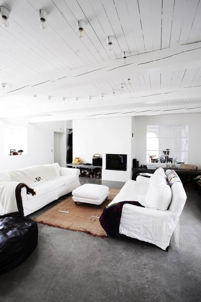 Minimalist Loft in Sweden: Remodelista