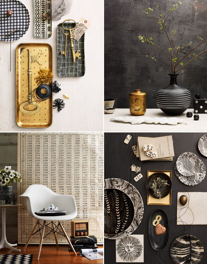 BLACK, WHITE AND GOLD IN NEW YORK | 79 Ideas
