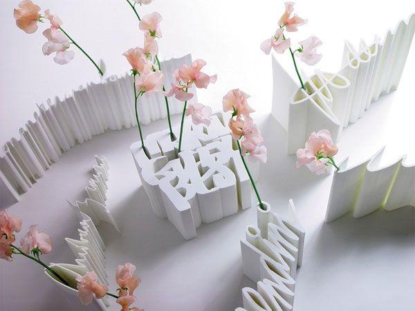 """Signature Vases"""" from Droog Design by Dutch designer Frank Tjepkema."""