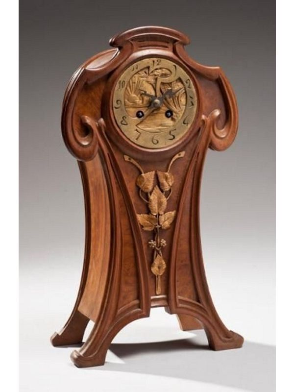 Clocks Decor Art Nouveau Decor Object Your Daily Dose Of