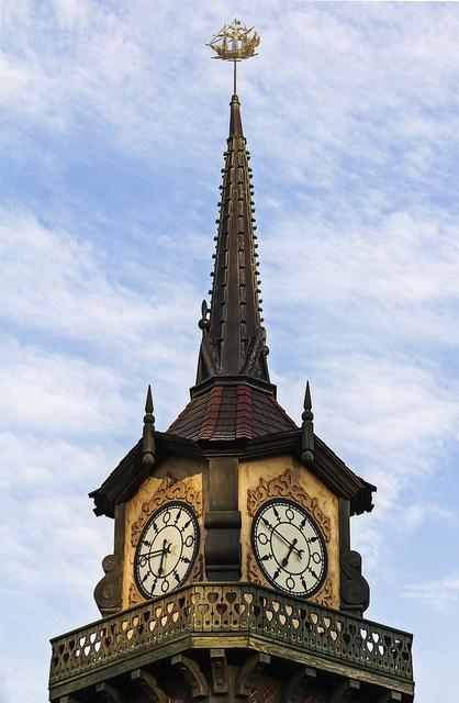 Disneyland Peter Pan Clock Tower