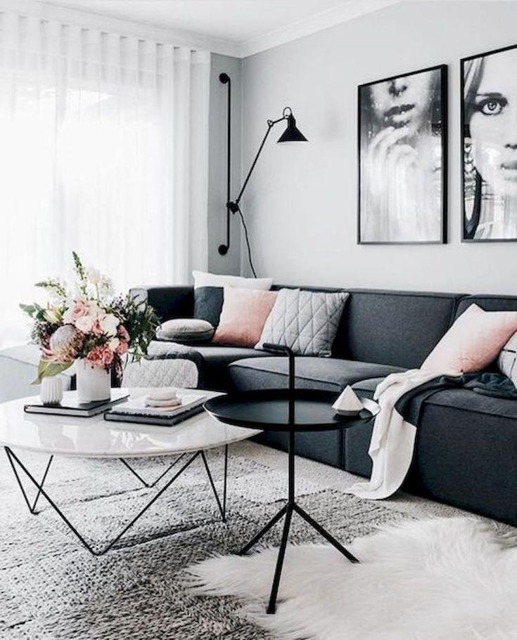 Furniture - Living Room : 65+ Cozy Apartment Living Room ...