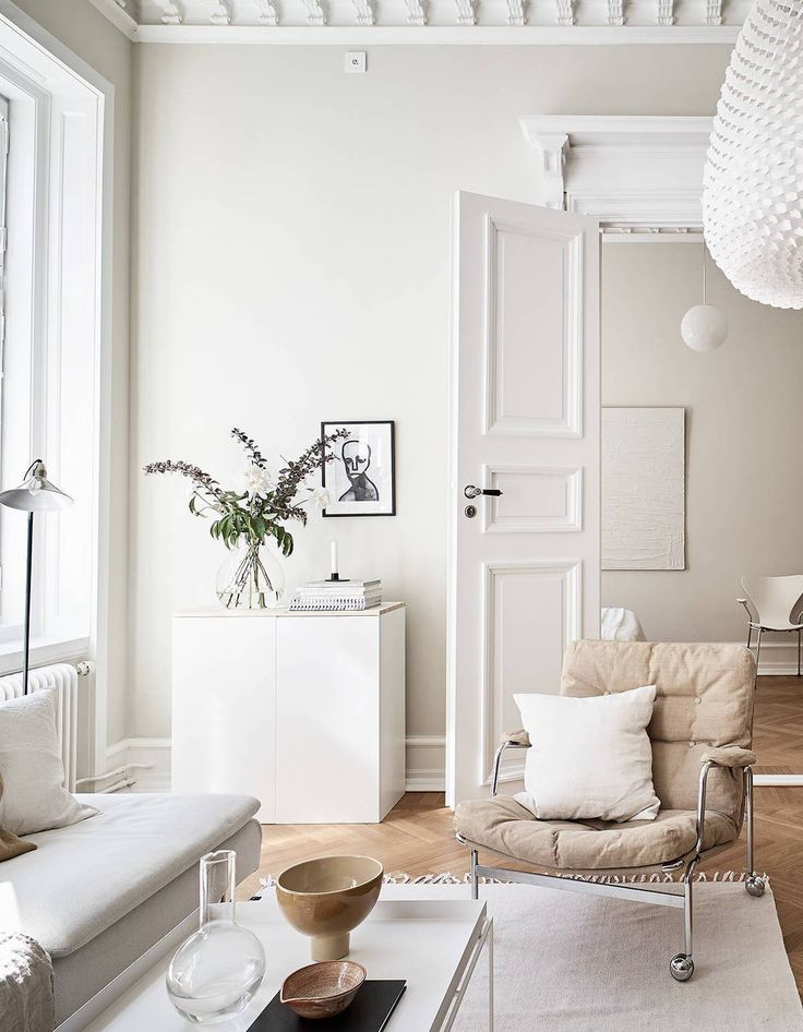 Turn of the century home in beige