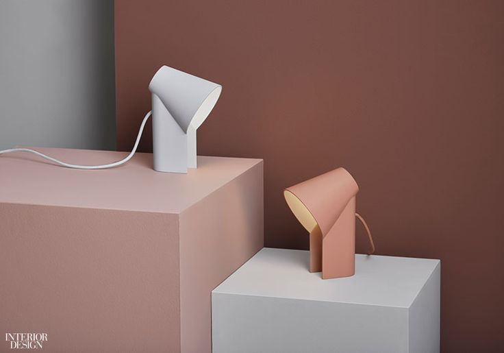 Study table lamps in painted aluminum byWoud.