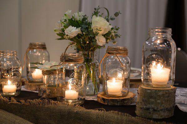 Wedding Decorative Bottles : Fall Barn Wedding   Rustic Wedding ...