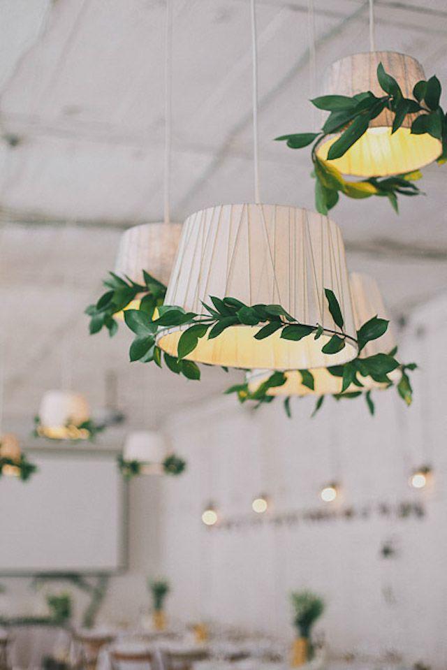 beautiful botanical and blush wedding